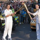 The Olympic Torch Relay in Camden