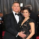 Channing Tatum and Jenna Dewan arriving for the 85th Academy Awards at the Dolby Theatre, Los Angele