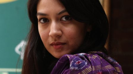 Novelist Tahmima Anam was voted one of the most promising British writers under 40