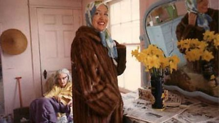 A scene from the documentary, Grey Gardens