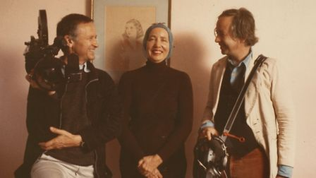 The Maysles brothers who made the documentary, Grey Gardens, with Lil' Edie