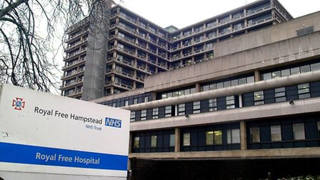 Midwife at the Royal Free Hospital lost diary containing details of 78 pregnant women. Picture: Nige