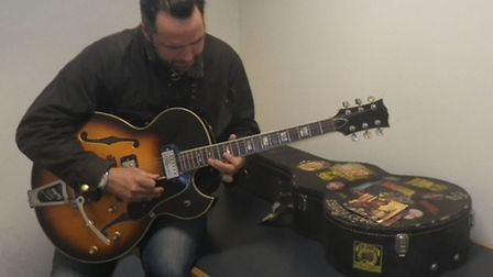 The guitar was returned to its owner after 13 years