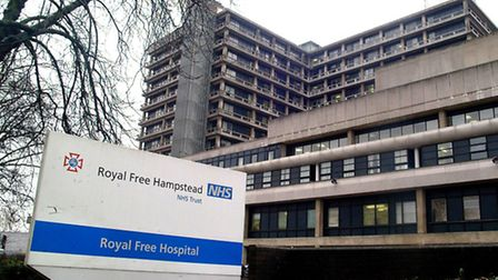 Students are well supervised at Hampstead's Royal Free Hospital