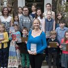 Daunt Books Children's short story competition award ceremony at Burgh House with children's author