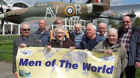 Age UK Men of the World trip to RAF Museum