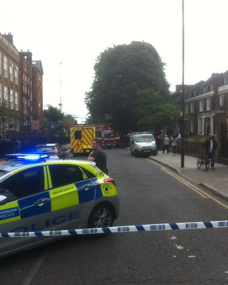 The incident happened in Dalston Lane