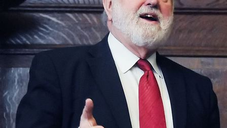 MP Frank Dobson. Picture: Dieter Perry