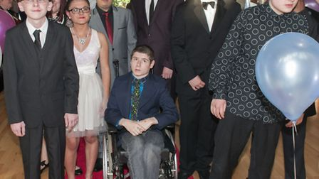 Pupils at the Swiss Cottage School leavers ball. Picture: Nigel Sutton.