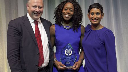 Hackney Homes Support Service Manager, Jennifer Amos was announced the winner of the Inspirational M