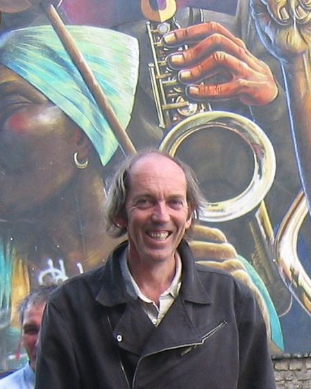 Bill Parry-Davies, founder of Open Dalston, an organisation opposed to 15 Dalson Lane which features
