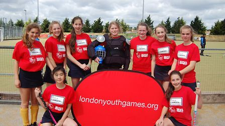 The Camden girls' hockey team are through to the finals of the London Youth Games