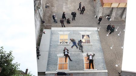 Beyond Barbican Summer presents Dalston House, an outdoor installation by Argentine artist Leandro E