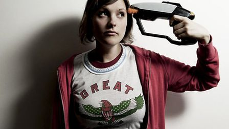 Comedian Josie Long
