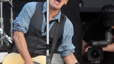 Bruce Springsteen will perform at the Hard Rock Calling music festival at the Olympic Park.