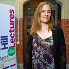 Tracy Chevalier at St Mary's church