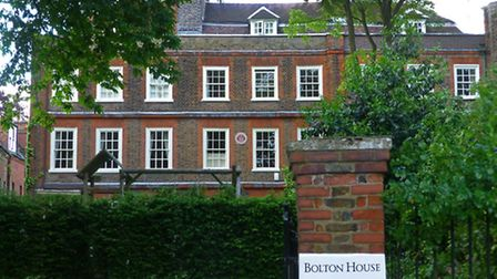 Guest who visited Joanna Baillie at Bolton House in Hampstead were invited to 'come early enough to