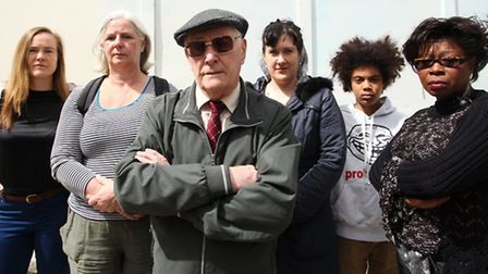 A group of residents of Morland Estate, London Fields, are angry at the council's decision to sell s