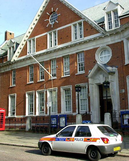 Hampstead police station.
