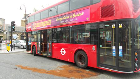 The new Routemaster bus broke down and was stranded on a busy Kentish Town junction for hours