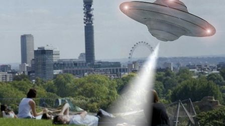 UFOs have supposedly been sighted over Primrose Hill