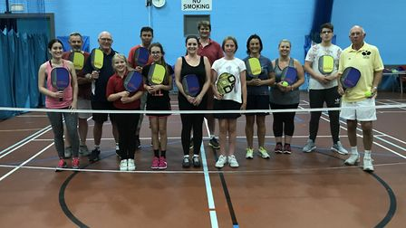 A Pickleball session at Waterlane Leisure Centre in Lowestoft. Pictures: Courtesy of Lowestoft O-Go-