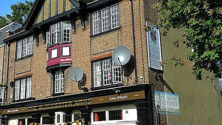 The Gloucester Arms in Leighton Road. Picture: Ewan Munro