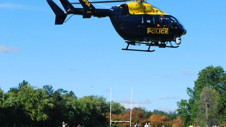 Hampstead residents reported being woken by the noise of a police helicopter as it pursued the suspe