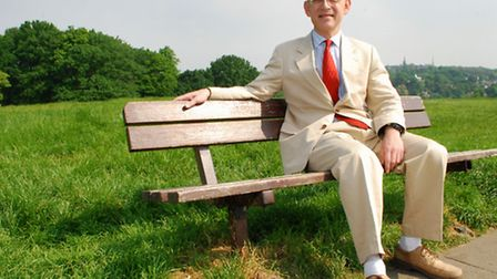Jeremy Simons, chairman of Hampstead Heath Management Committee