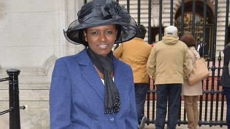 Sophie Musabe Masereka, who survived the Genocide in Rwanda in 1994