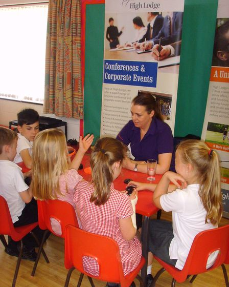 Youngsters were made more aware of how the skills they learn in school connect with the world of wor