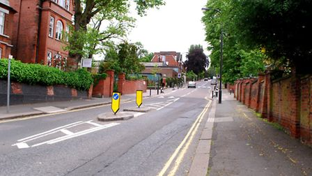Life as usual resumed in Arkwright Road this week. Picture: Polly Hancock