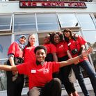 Hackney youngsters are excited about the launch of The Red Route Cafe at The Levy Centre, Lower Clap