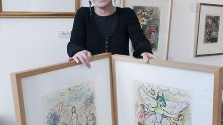 Andrea Sylvester is having a Chagall Bonanza at Sylvester Fine Art gallery in Belsize Lane. Picture: