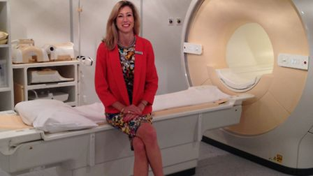 Debbie Lang, a radiographer specialising in MRI, has been brought in to head up the new department a