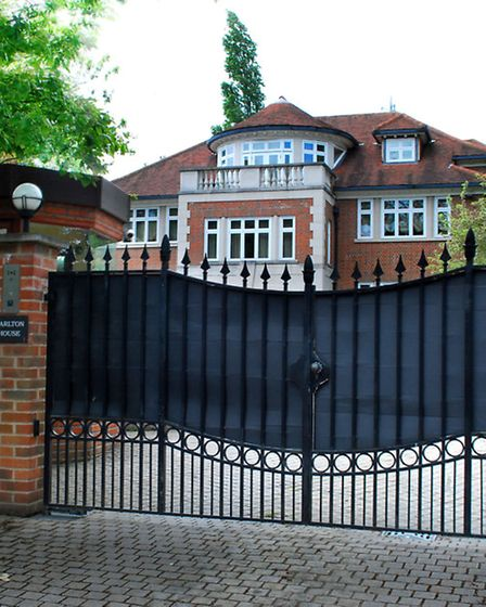 Carlton House, Mukhtar Ablyazov's home in The Bishops Avenue. Picture: Polly Hancock.