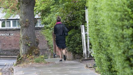 Women in Hampstead have been warned to keep their jewellery hidden. Picture: Nigel Sutton.