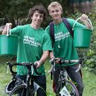 Camden school boys Sam Charalambous and Jimmy Brock, both 16, will cycle from Lands End to John O'Gr