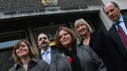 The team at the Family Drug and Alcohol Court. Picture: Polly Hancock
