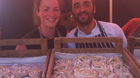 Hackney pasta business The Cooking Cooks Italian Kitchen were selected to be part of British Summer