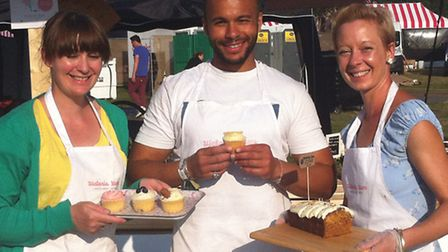 Hackney cucpake business Victoria Yum were selected to be part of British Summer Time. From l to r: