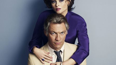 Helena Bonham Carter and Dominic West as Elizabeth Taylor and Richard Burton in Burton and Taylor. P