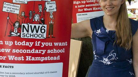 Dr Clare Craig is calling on Camden Council to support her group's bid for a new school in West Hamp