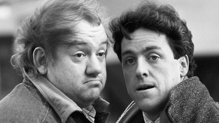 Comedians Mel Smith (left) and Griff Rhys Jones were comedy partners for decades after first working