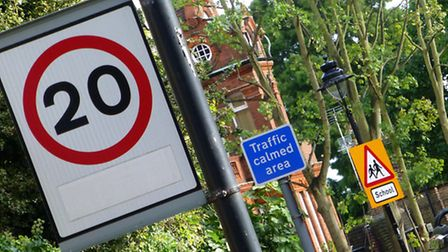 A 20mph speed limit could be in force across Camden by April next year. Picture: Nigel Sutton
