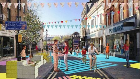 The photo that was deleted by the council