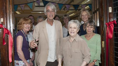 Roger Lloyd Pack opens Highgate Library Civic and Cultural Centre