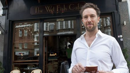 Andre Millodot opened The Wet Fish Cafe after being inspired by Parisian bistros. Picture: Nigel Sut