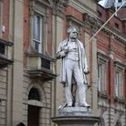 Statue of Sir Rowland Hill in Kidderminster. Picture: Richard Burke