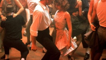 Patrick Swayze and Jennifer Grey star in Dirty Dancing